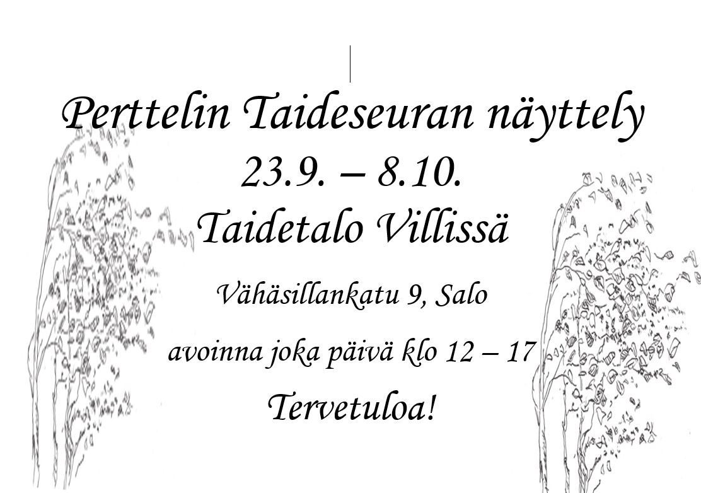 Perttelin Taideseuran näyttely