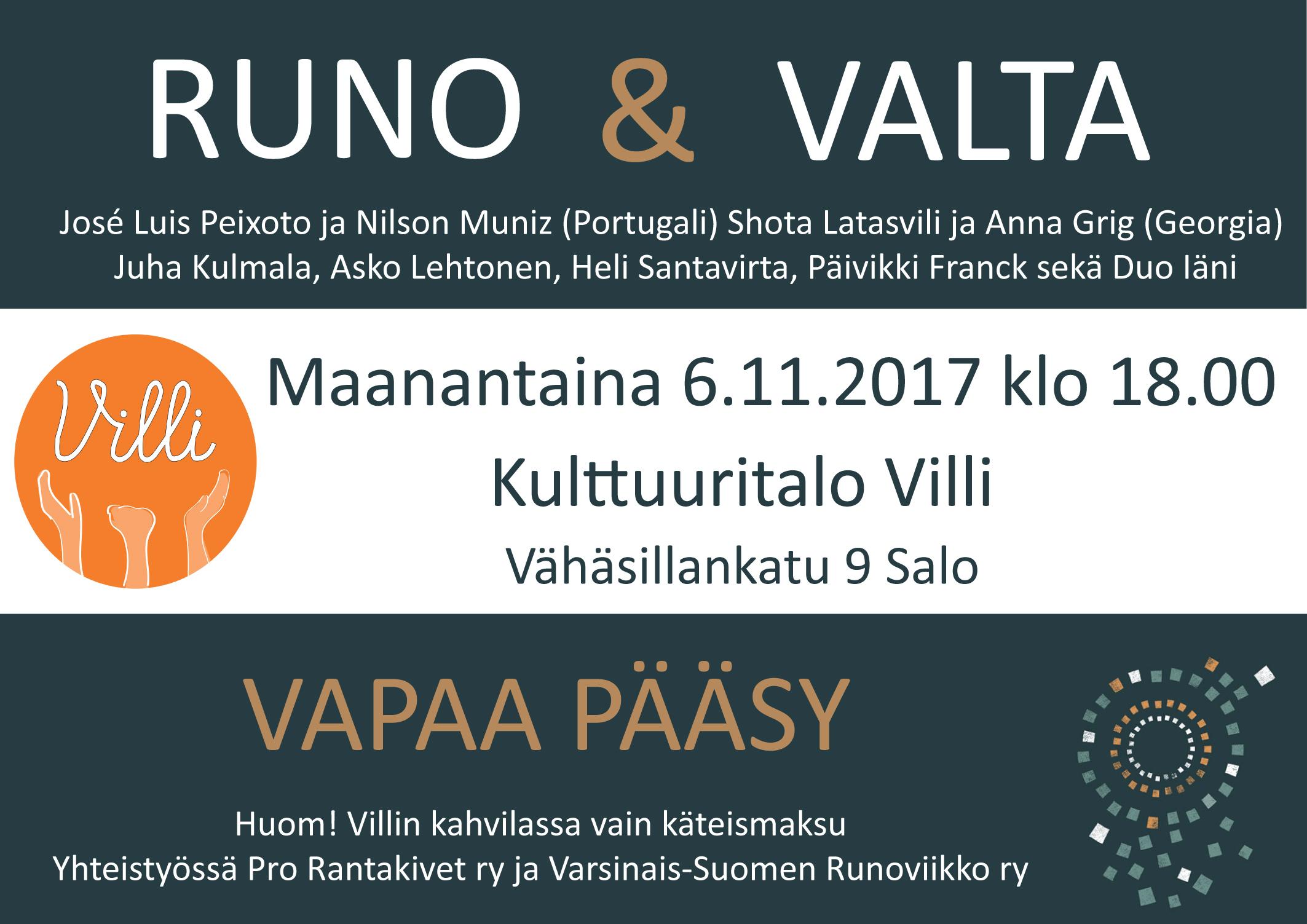 Runo&Valta